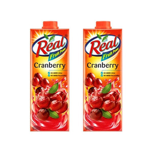 CRANBERRY JUICE - REAL - 1L - 1PC