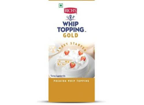 WHIP TOPPING GOLD -RICH