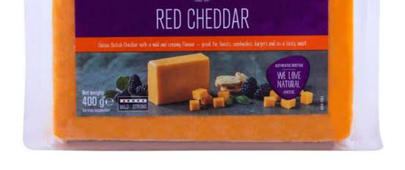 CHEDDAR CHEESE RED-OLIVER