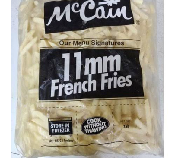 FRENCH FRIES  11 MM -MCCAIN