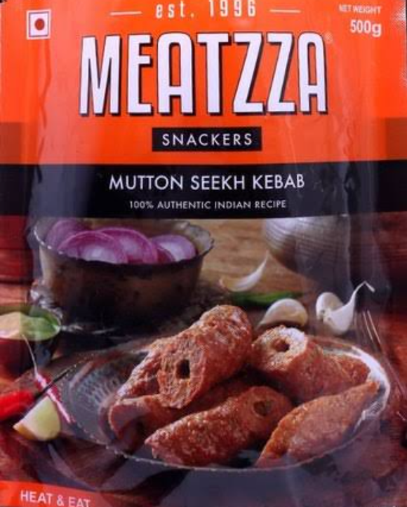 MUTTON SEEKH KEBAB-MEATZZA 1kg