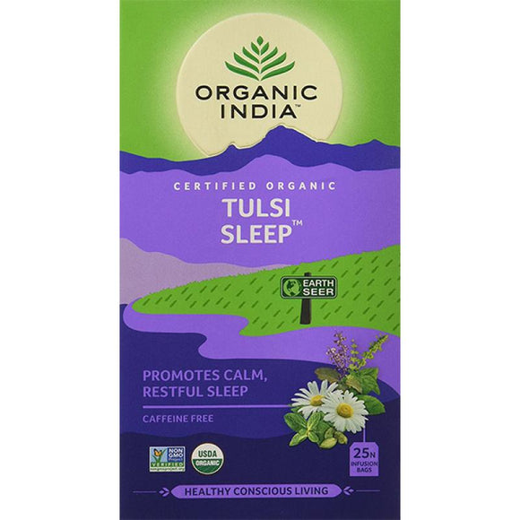 TULASI SLEEP - 25 TEA BAGS - ORGANIC INDIA