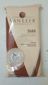 DARK COMPOUND CHOCOLATE - VANLEER - 500GM