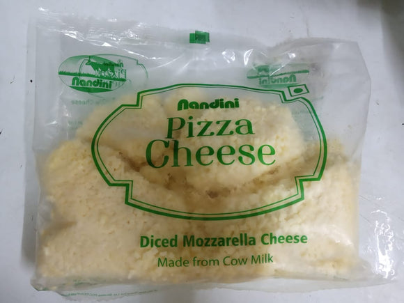 CHEESE MOZZARELLA DICE - NANDINI - 1KG
