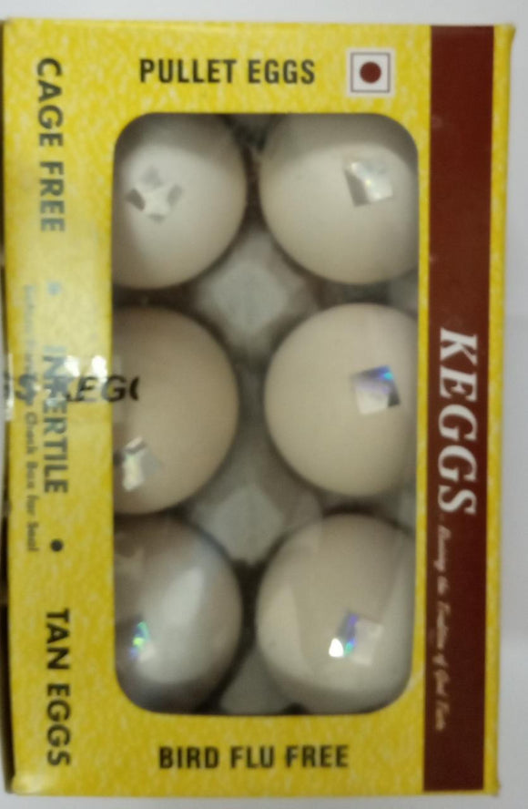 BROWN EGGS - PACK OF 6PCS