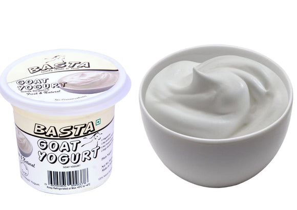 BASTA-GOAT MILK YOGURT PLAIN 1KG