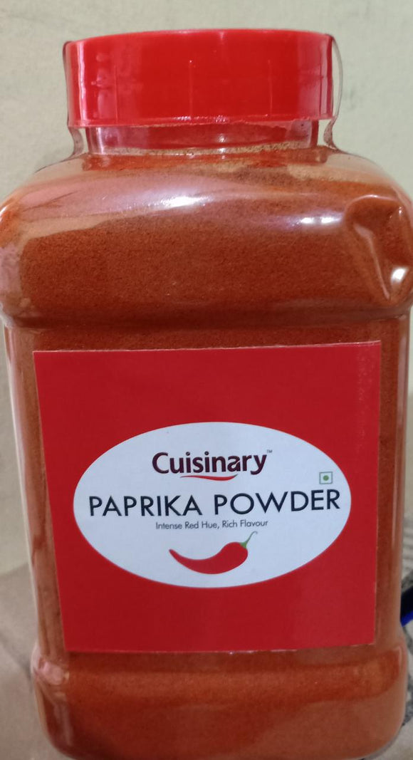 PAPRIKA POWDER - CUISINARY - 300GMS