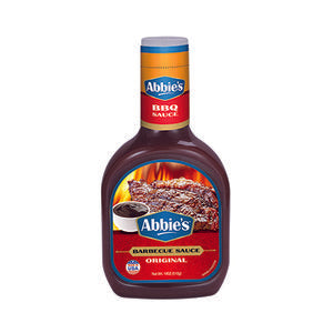 BARBECUE SAUCE - ABBIES - 510gms