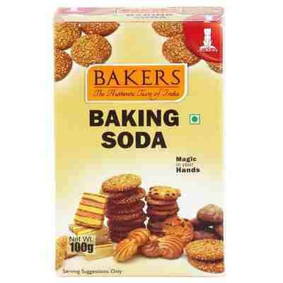 BAKING SODA - BAKERS - 100GM