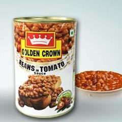 BAKED BEANS - GOLDEN CROWN - 450GMS