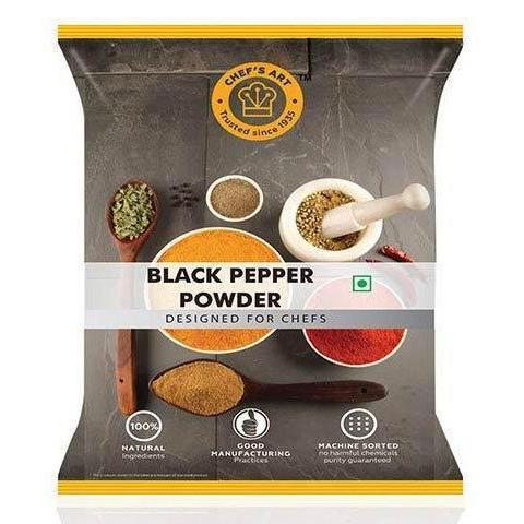 BLACK PEPPER POWDER - CHEFS ART - 1KG