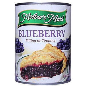 mothers maid blueberry pie filling