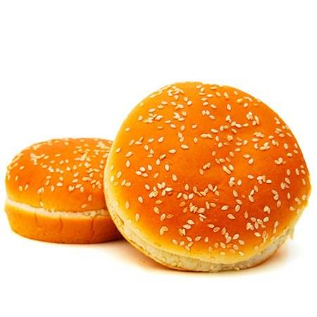 BURGER BUNS JUMBO - 5 INCH - 4 PC