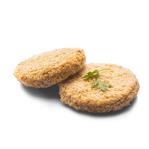 CHICKEN BURGER PATTY (COATED) - CP FOODS - 1KG