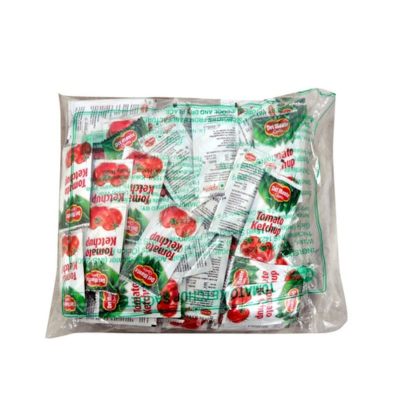 TOMATO KETCHUP - SACHETS - DEL MONTE  -100 PACK