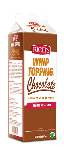 CHOCOLATE WHIP TOPPING-RICH