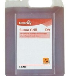 SUMA D9 OVEN AND GRILL CLEANER - DIVERSEY - 5L