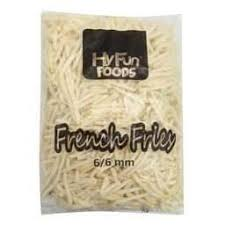 FRENCH FRIES A GRADE - HYFUNFOOD  - 6MM  2.5kg