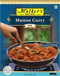 MUTTON  CURRY MIX - MOTHER `S- 100GM