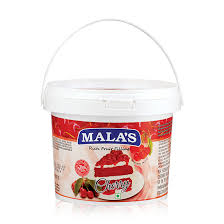 CHERRY  FRUIT FILLING - MALAS - 1KG