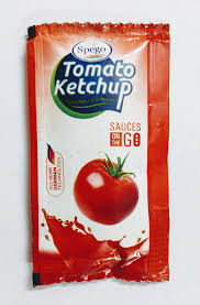 TOMATO KETCHUP - SACHETS -  SPEGO  - 8G  -100 PACK