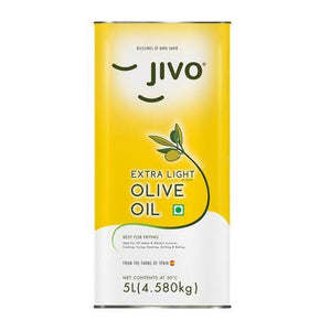 EXTRA LIGHT OLIVE OIL - JIVO - 5 LTR