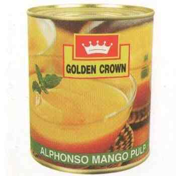 MANGO PULP TIN - GOLDEN CROWN - 850GMS
