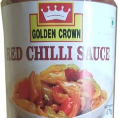 RED CHILLI SAUCE - GOLDEN CROWN - 670gms