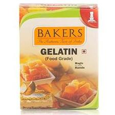 GELATIN FOOD GRADE - BAKERS - 50GM