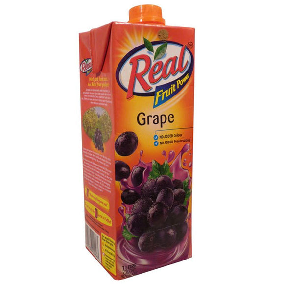 real grape juice