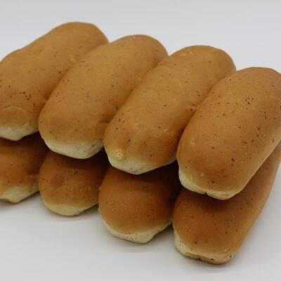 HOTDOG ROLLS BROWN 6 INCH - 2 PC