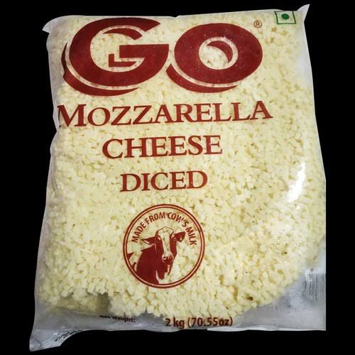MOZZARELLA CHEESE DICED -GOWARDHAN