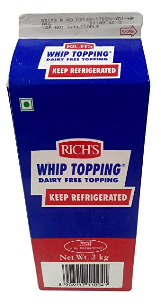 WHIP TOPPING -RICH