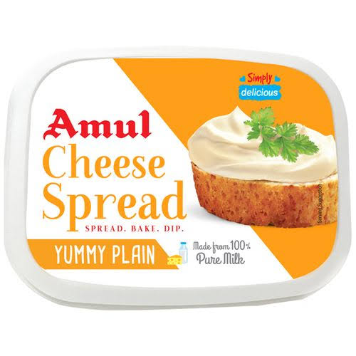 CHEESE SPREAD PLAIN-AMUL