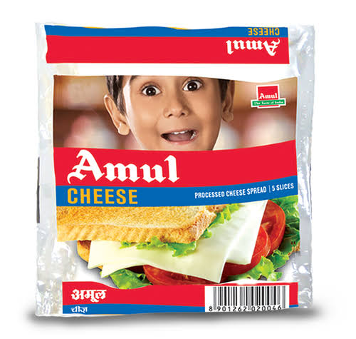 PROCESS CHEESE SLICES -AMUL