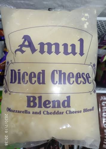 CHEESE BLEND DICED-AMUL
