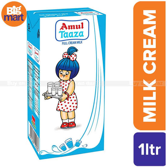 TAZZA FRESH CREAM-AMUL