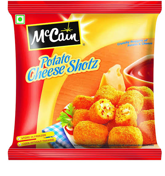 POTATO CHEESE SHOTS - MCCAIN