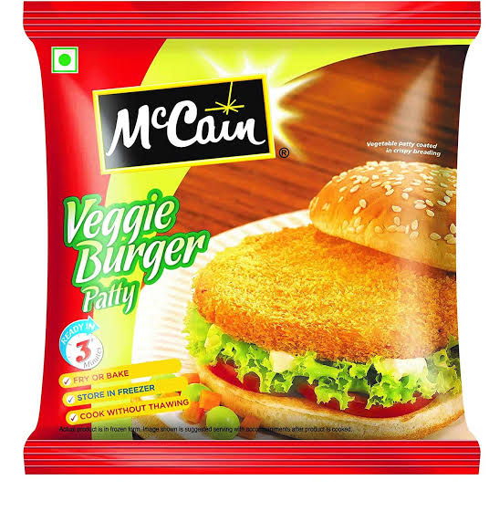 SUPER VEG BURGER PATTY - MCCAIN