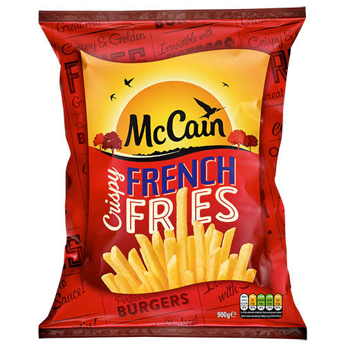 SURE CRISPY FRIES (6mm) -(9mm) - MCCAIN