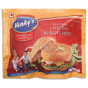CHICKEN BURGER PATTY - VENKYS