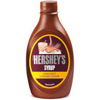 HERSHEY'S SYRUP CARAMEL FLAVOVR   1PC - 623GMS