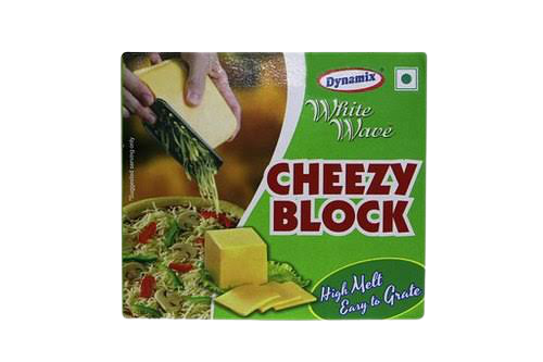 PROCESSED CHEESE BLOCk (Eassy Melt)-Dynamix-1kg