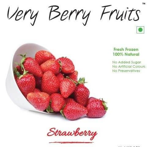 IQF STRAWBERRY - VERY BERRY - 1KG