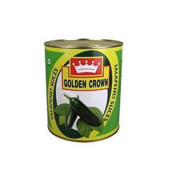 JALAPENO SLICED - GOLDEN CROWN - 3KG