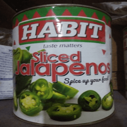 JALAPENO SLICED - HABIT - 3KG