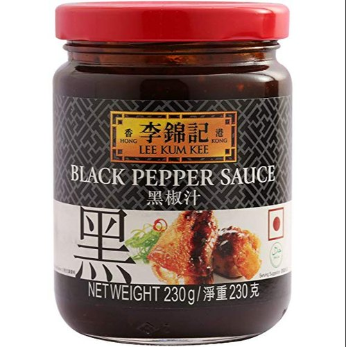 BLACK PEPPER SAUCE- LKK -230GM