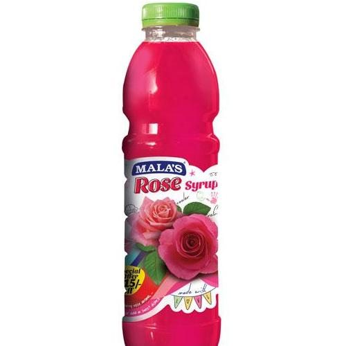 ROSE SYRUP - MALAS - 750ML