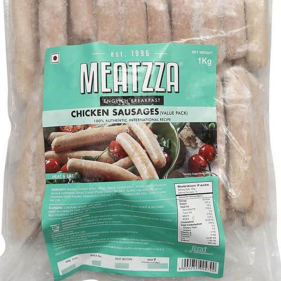CHICKEN VALUE SAUSAGE - MEATZAA - 1KG