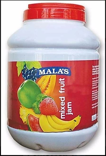 MIXED FRUIT JAM - MALAS - 4KG